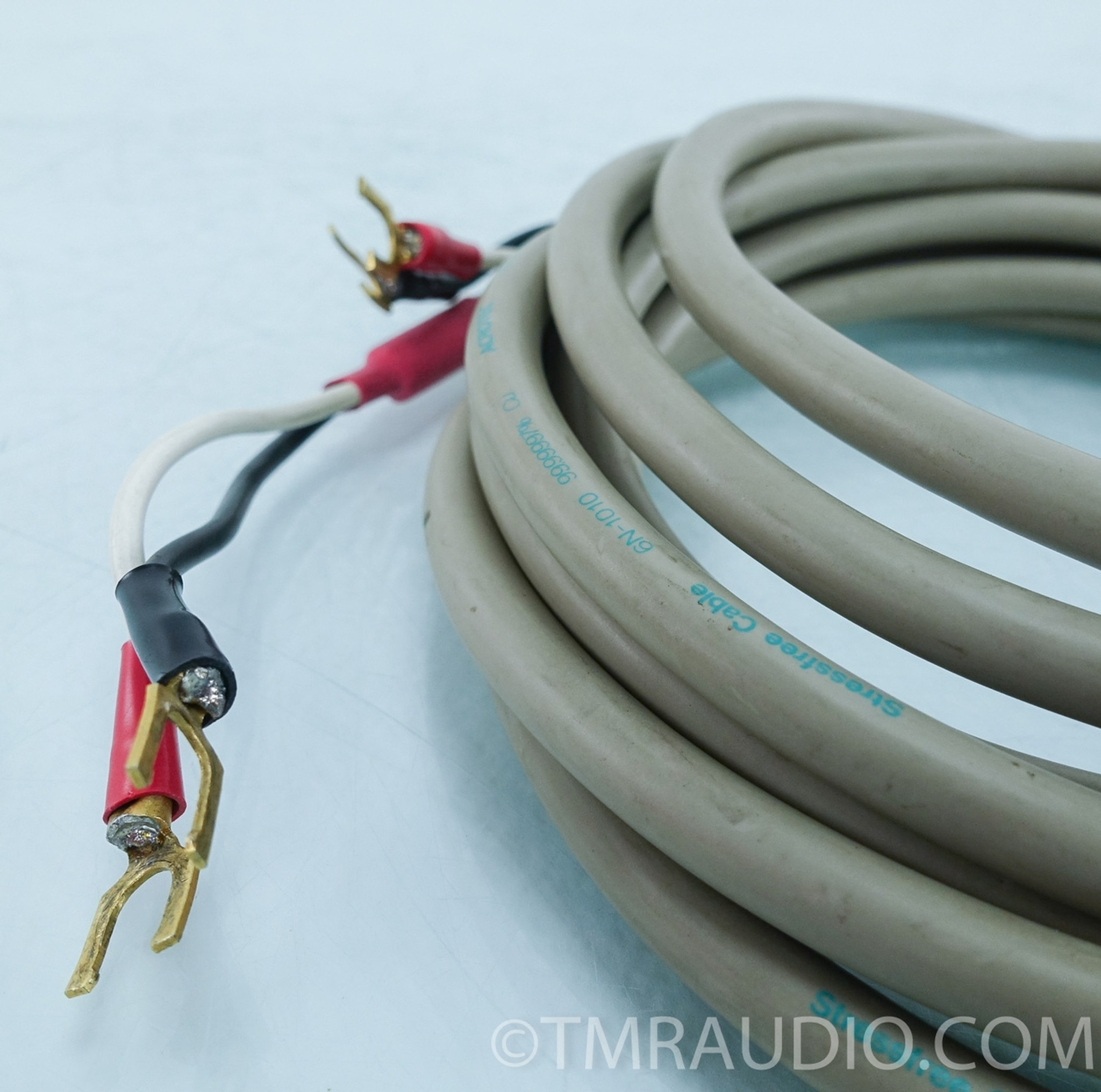 Acrotec Stress Free 6N-1010 Speaker Cables; 2.5m Pair; Spades - The ...
