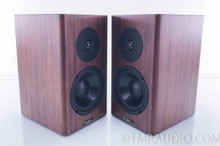 Tyler Acoustics Halo 4 Bookshelf Speakers; Mahogany Pair
