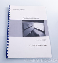 Audio Refinement Pre-2 DSP 5.1 Channel Preamplifier; Processor (YBA)