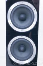 B&W CM8 Floorstanding Speakers; Pair; Bowers & Wilkins; Gloss Black