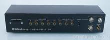 McIntosh MVS-1 Video Selector