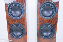 Wilson-Benesch Square Three Floorstanding Speakers; Burr Walnut Pair