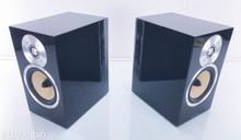 B&W CM5 Bookshelf Speakers; Gloss Black Pair