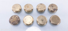 Mapleshade Hemispherical Heavyhat; Set of 8 Brass Weights