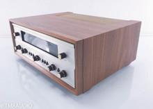 Fisher 800-B Vintage Tube Receiver; Walnut cabinet