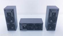M&K K-17 Satellite / Surround / Center; Set of 3 Speakers