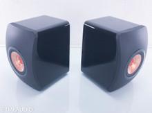 KEF LS50 Anniversary Model Bookshelf Speakers; Black Pair