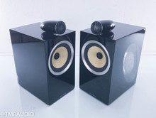 B&W CM6 S2 Bookshelf Speakers; Black Pair (Damaged)
