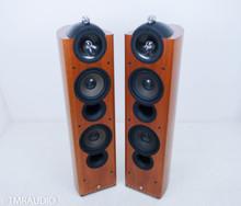 KEF Reference 205 Floorstanding Speakers; Cherry Pair