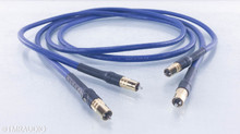 Cardas Clear RCA Cables; 2m Pair Interconnects (Rev. 1)