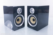 B&W CM1 S2 Bookshelf Speakers; Piano Black Pair