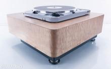 Thorens TD 124 MKII Vintage Turntable w/ Custom Plinth (No Cartridge/Tonearm)