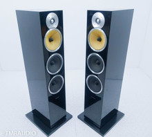 B&W CM9 Floorstanding Speakers; Black Pair (No grills)