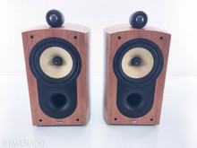 B&W Nautilus 805 Bookshelf Speakers; Cherry Pair
