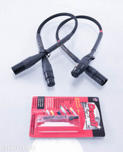 Audience Au24e XLR Cables; .5m Pair Balanced Interconnects