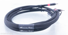 Grover Huffman SX RCA Cables; 1m Pair Interconnects