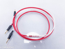 WyWires RED Series 3.5mm Headphone Cable; 5ft; 3.5mm Headphone Plugs (1/2)