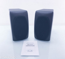 Opera Mezza 2012 Bookshelf Speakers; White Lacquered Pair (New Old Stock)