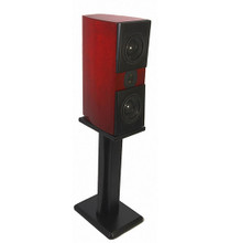 "Acoustic Zen Adagio Jr. 26"" Speaker Stands; ; Black Pair (New Old Stock)"