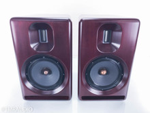 Sonist Audio Concerto 2 Bookshelf Speakers; Mahogany Red Pair