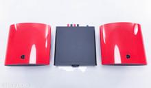 Musical Fidelity Merlin 1 Speaker System; Red Pair w/ Amplifier