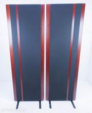 Magnepan 3.7 Magnetic Planar Floorstanding Speakers; Dark Cherry/Black Pair