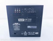 "B&W ASW-2500 10"" Powered Subwoofer; Black Ash"
