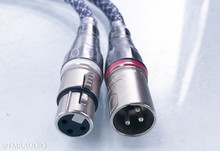 Acoustic Zen Absolute Zero Crystal Silver XLR Cables; 1m Pair Balanced Interconnects
