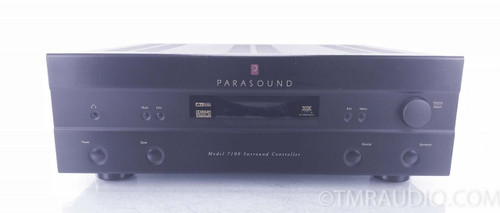 Parasound 7100 Preamplifier / Processor; Remote