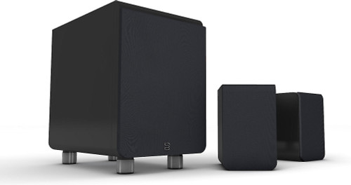 Bluesound Duo 2.1 Channel Speaker System; Sub; Satellite Speakers; Black (New)