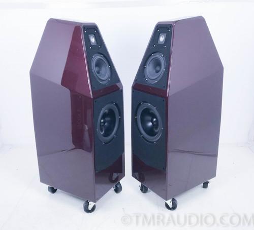 Wilson Audio Sophia 3 Floorstanding Speakers; Carmen Red With Flakes