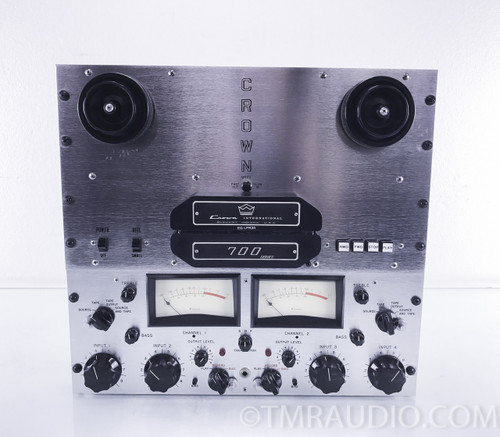 Crown CX724 Vintage Reel to Reel Tape Deck / Recorder / Player; Refurbished