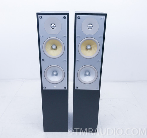 B&W CM4 Floorstanding Speakers; Bowers & Wilkins; Pair; Black; CM-4 (AS-IS)