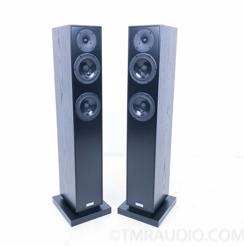 Penaudio Rebel Three Floorstanding Speakers; Black; Pair