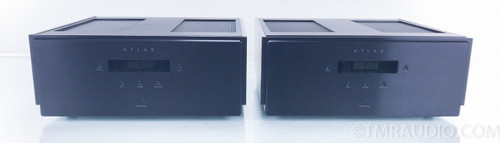 Aesthetix Atlas Signature Tube Mono Power Amplifiers; Black; Pair