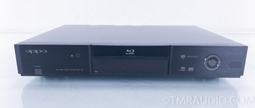 Oppo BDP-83 Blu-Ray CD SACD Disc Player with ASI-Tek Modification