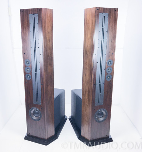 Genesis 300 Floorstanding Speakers w/ Matching Genesis 300 Subwoofer Amplifier; Pair