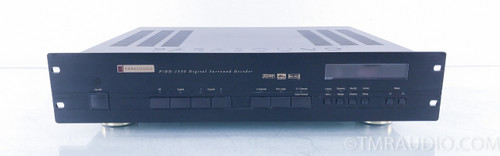 Parasound P/D-1550 DAC; Digital Surround Decoder; D/A Converter; PDD1550