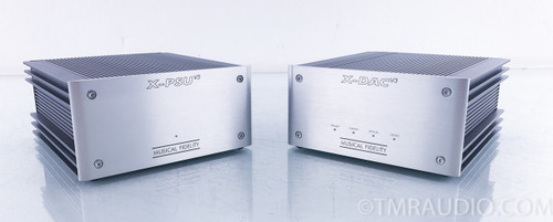 Musical Fidelity X-DAC v3 DAC; D/A Converter w/ X-PSU v3 Power Supply