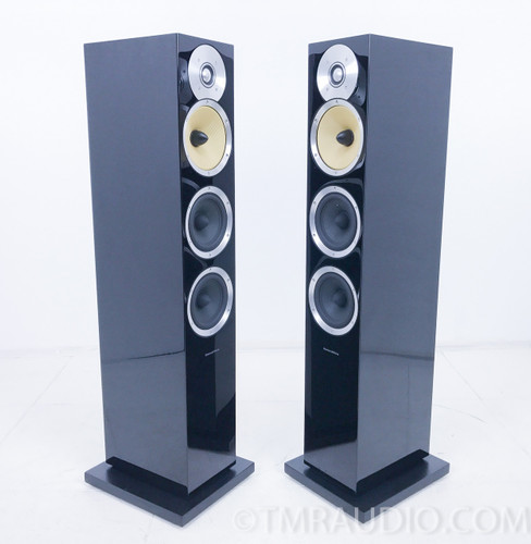 B&W CM8 Floorstanding Speakers; Pair; Bowers & Wilkins; Gloss Black