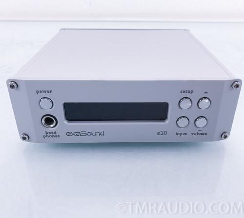 exaSound e20 Mk III DAC; D/A Converter; Femto Clock