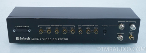 McIntosh MVS-1 Video Selector