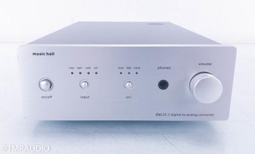 Music Hall dac25.2 Tube DAC; D/A Converter; Silver