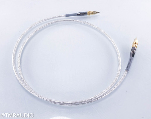 Nordost Valhalla Digital BNC Cable; Single 1.5m Interconnect (w/ RCA Adapters)