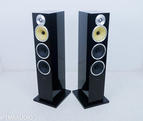 B&W CM9 Floorstanding Speakers; Piano Black Pair