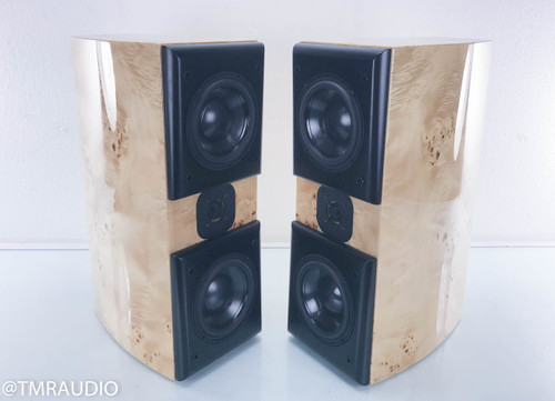 Acoustic Zen Adagio Jr. Bookshelf Speakers; Mable Burl Pair