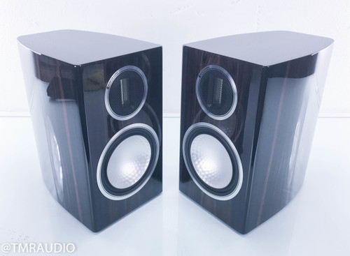 Monitor Audio Gold 100 Bookshelf Speakers; Piano Ebony Pair