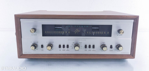 Fisher 800-B Vintage Tube Receiver; Walnut cabinet