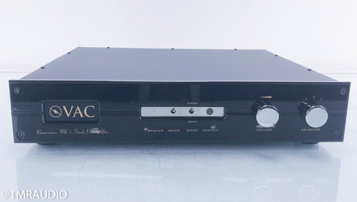 VAC Rennaissance MKV Stereo Triode Tube Preamplifier; Mk-5; MM / MC Phono