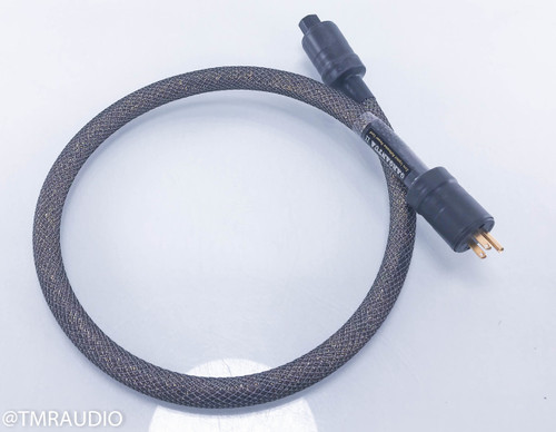 Acoustic Zen Gargantua II Power Cable; 4ft AC Cord; Upgraded